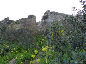 Nestors Festung von unten